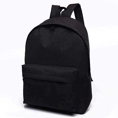 (Jamisonme-Rucksack mit einfachem Design, Business-Diebstahlschutz-wasserabweisender Reiserucksack, großes Fach College School Bookbag (Schwarz) Business)