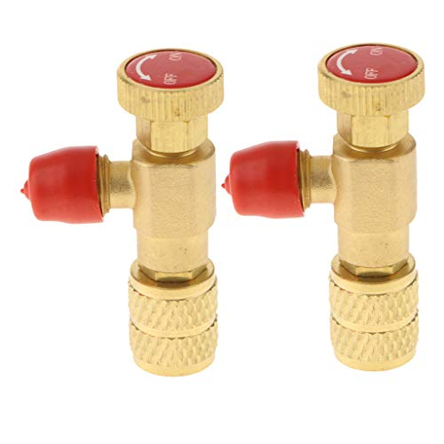 SM SunniMix 2stk. Hochwertig Sicherheitsventil Druckventil Druckregler Druckminderer für Luft und Flüssigkeiten -