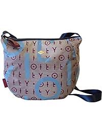 Oilily Damen Groovy Shoulderbag Lhz Umhängetasche, 12 x 32 x 36 cm