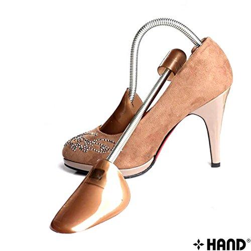 No.1701 resistente a molla che permettono di allargare le forme per scarpe/estensori, 2 pezzi, da donna