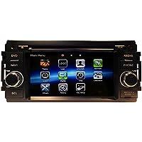 LIKECAR 2 DIN autoradio GPS Naviceiver per for Dodge Ram