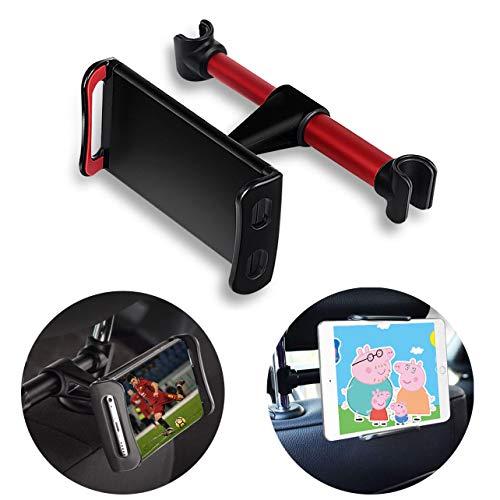 supporto tablet auto poggiatesta Supporti Poggiatesta per Tablet Cellulare con 2 Appendiabiti Auto