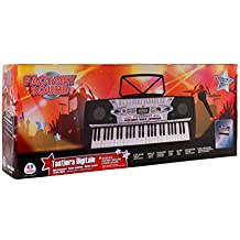 Globo Toys Globo–37338Factory sonido 54-keys Piano con micrófono/100sellos patas y ritmos