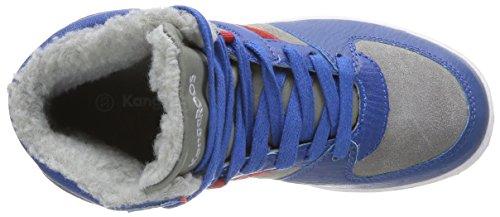 KangaROOS Kanga-Stuu 2013 Jungen Hohe Sneakers Blau (royal blue/mid grey 423)