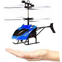 Mini Flying Helicopter, Rcool New Hand Suspension RC Helicopter Aircraft Infrared Sensing Induction Flying Drone Toy with Colorful LED Lighting Flashing for Kids and Adults - Compare prices on radiocontrollers.eu