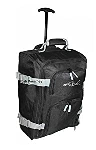 Cabin Hand Luggage Suitcase Ryanair 35 Litre Wheeled Trolley Travel Case Bag Easyjet