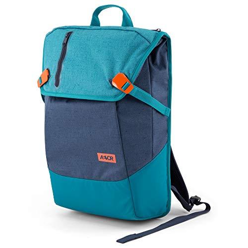 AEVOR Daypack Rucksack - erweiterbar 18 auf 28 Liter, ergonomisch, Laptopfach 15', wasserabweisend, Palm...