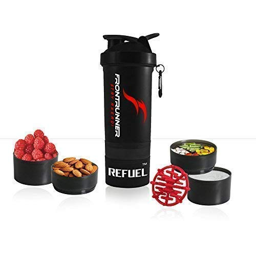 FrontRunner Fitness The Refuel Shaker - Hungry Wolf