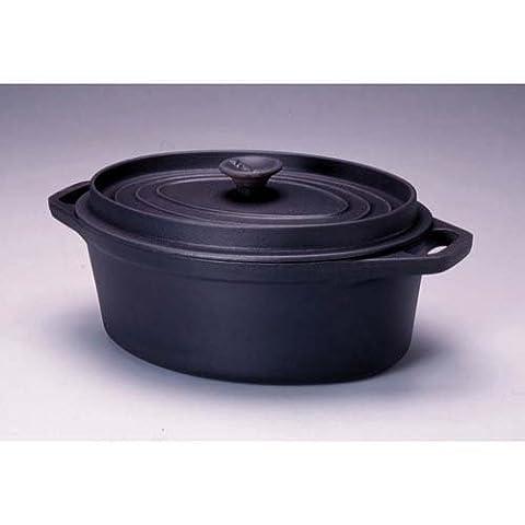 Invicta - 30333 noir - Daubière en fonte émaillée 33cm noire Mijoteuse