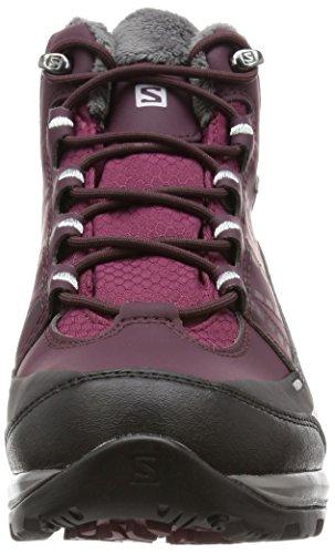 Salomon KAÏNA CS WP 2 Winterstiefel Damen bordeaux-purple black-aluminium