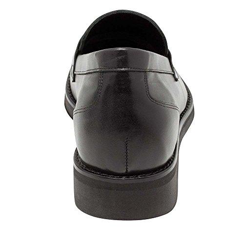 In A Peau Chaussures Suola 7 Homme Cm Gli Semelle Augmentant Aumento Réhaussantes Con Taille Avec Jusquà Masaltos En Per Pour Bruno Nibbio La 7cm Altezza Modello Di Fabriquées Fino Pelle Fatta Dimensione Uomini Masaltos Di Modèle La Scarpe Aumentare Milan Noir 64dqwAA