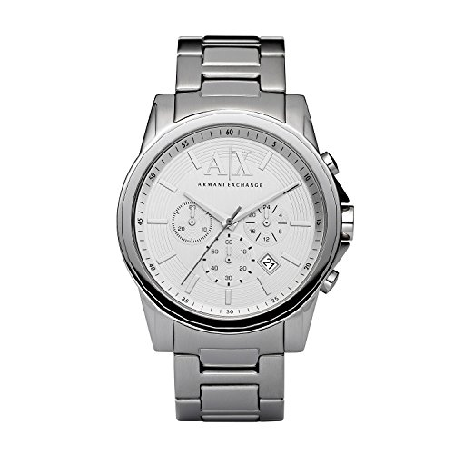 41s JF5ELRL - Armani AX2058 Silver Mens watch