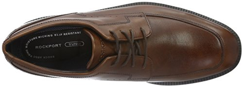 Rockport Dressport Modern Apron Toe, Chaussures à Lacets Homme Marron (New Brown)