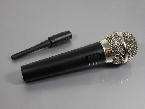 4 in 1 Funk Wireless Kabellos Mikrofon für Wii PS3 PS2 XBOX 360