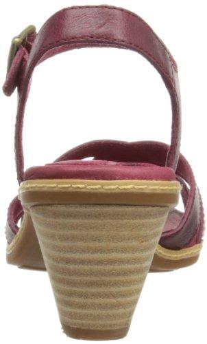 Timberland Eathkeepers Montvale Sandal Ankle Strap, Baskets mode femme Rouge - rouge foncé