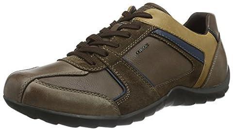 Geox Herren U Pavel B Sneakers, Braun (Cigar/COGNACC6L6N), 42 EU