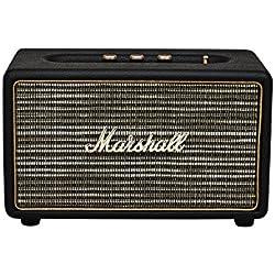 Marshall Acton - Altavoz portátil (25 W, 50 - 2000 Hz, Bluetooth) color negro