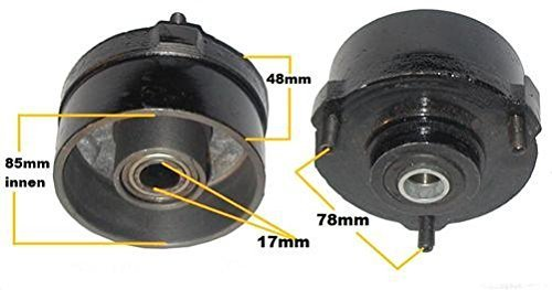 Radnabe Bremstrommel vorne 3 Pin 110 - 125cc Kinderquad Quad Atv