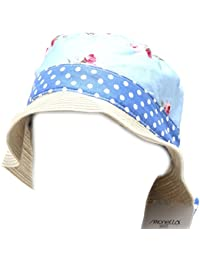 Simonetta 6408G cappello pescatore bimba azzurro MINI cotone accessori hat  kids 89c9aa645fb