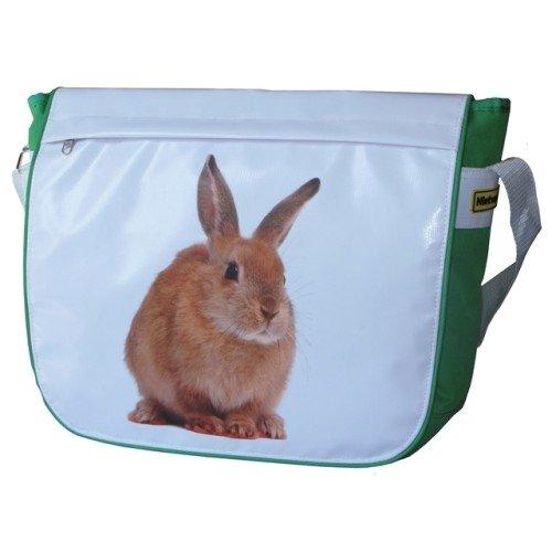 Fahrradtasche Schultertasche Tasche Tiermotive 6 Farben Hase