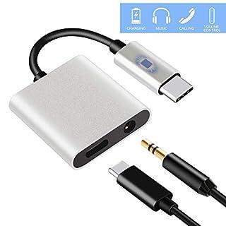 iBaste Audio Adapterkabel, HDMI Konverter Kkabel, Kopfhörer und Audio adegerät Kabeladapter Für Gleichzeitiges Aufladen Und Audioausgang Hohe Qualität