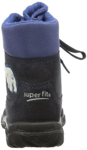 Superfit Husky 10046381 Jungen Schneestiefel Blau (Ocean Kombi 81)
