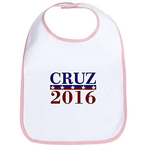 CafePress–Ted Cruz Präsident 2016–Cute Stoff Baby Lätzchen, Toddler Lätzchen, Pink (Freiheit Bib)