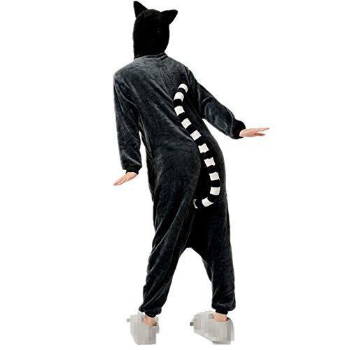 Misslight Unicorn Pyjamas Costumes d'animaux Cosplay Pyjamas Combinaison Vêtements de nuit Combinaison pour Enfant Adulte Unisexe Monkey
