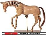 Mannequin HorseLight Wood–30cm - EMI Craft