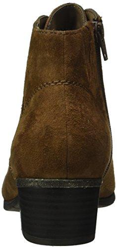 Jana Damen 25100 Chelsea Boots Braun (Cafe Suede 362)