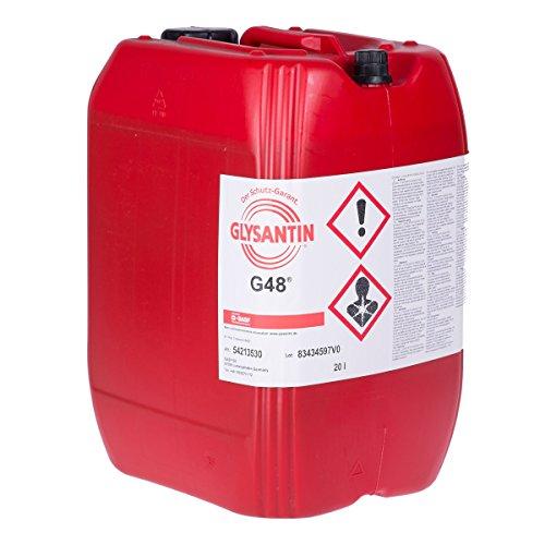 BASF Glysantin G48 Kühlerschutz Konzentrat - 1x20 Liter - Kühlerfrostschutz grün-blau