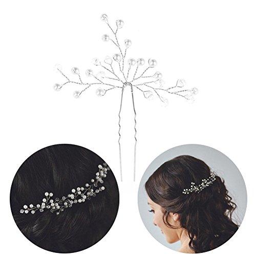 Molie cheveux bijou épingles à chignon coiffure de mariage