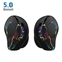 fef4fb0e61b Bluetooth Earphones True Wireless Earbuds Headphones - LEZII X12pro (2018  NEW) Bluetooth 5.0 Stereo Wireless Earphones, Bilateral Headset Call  Wireless ...