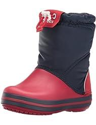 crocs Unisex-Kinder Crocband Lodgepoint Boot Kurzschaft Schlupfstiefel
