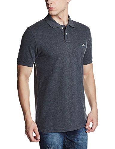 Aeropostale Men's T-Shirt (AE07908017_Large_Charcoal Heather Grey_10011013)