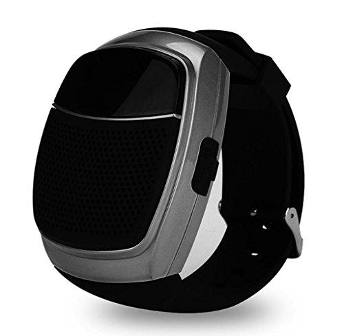 Lautsprecher, Rcool XC-Z3 Luxury Holz Textur Subwoofer drahtlose Bluetooth-Lautsprecher mit Mikrofon (Schwarz)