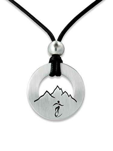 C2 Sportschmuck Halskette Einrad Downhill A-27