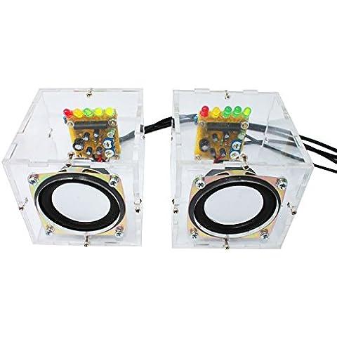 L'altoparlante i consumi di potenza si è verificato su Sound Suite di produzione audio musica casse altoparlanti per PC di produzione DIY formazione allentati, canale singolo con un guscio (altoparlante)