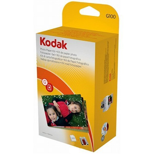 kodak-g-100-easyshare-printer-dock-color-cartridge-photo-paper-refill-kit-by-kodak