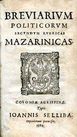 Breviarium Politicorum secundum rubricas Mazarinicas