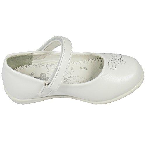 Sapatos E Branco Apertados De De Da Bailarina Casamento 27 De Menina Sólidos Tamanhos Em Vários Crianças 22 A FUwZaT
