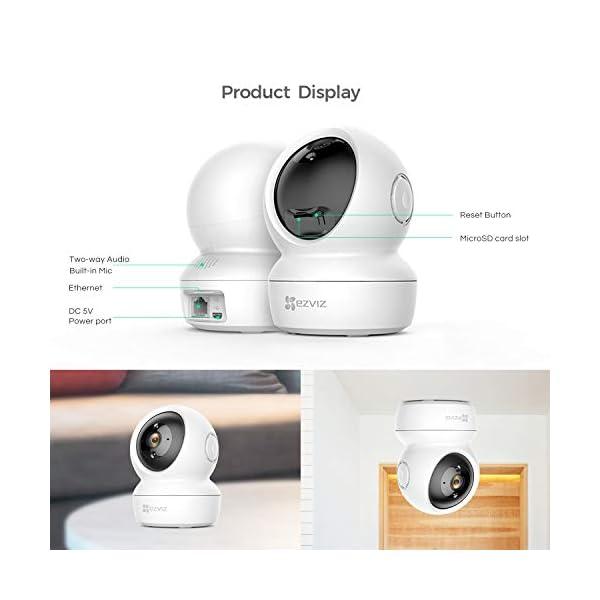 EZVIZ-C6N-telecamera-Wi-Fi-interno-1080p-videocamera-sorveglianza-interno-PanTiltZoom-compatibile-con-Alexa-Rotazione-a-360-visione-notturna-tracciamento-del-movimento-e-audio-bi-direzionale