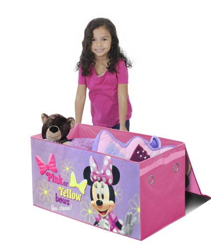 Disney Minnie Mouse Collapsible Storage Trunk by Idea Nuova - LA