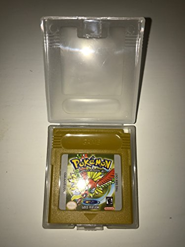 Pokemon Gold Version für Nintendo Game Boy Color GBA GBC mit Schutzhülle (Third Party Game)