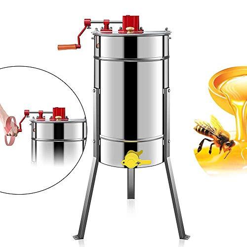 DiLiBee 4 Vier waben Manuelle honigschleuder Hand-honigschleuder Bienenzucht Ausrüstung manuelle Schleuder Imker Zander 4-Fach Schleuderkorb Neu