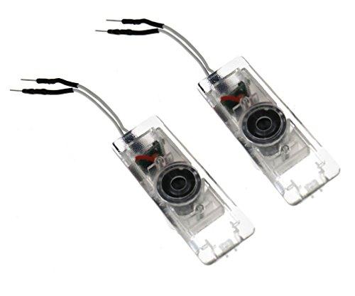 Preisvergleich Produktbild 4X Willkommen Laser Projektor Türlicht Logo Cree LED Ghost Shadow Lampe für BMW