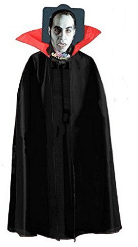 Inception Pro Infinite Taglia Unica - Mantello per Costume - Travestimento - di Carnevale - Halloween - Vampiro - Demone - Nobile - Dracula - Adulti - Unisex - Donna - Uomo - Ragazzi