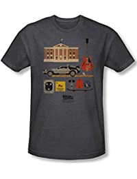 Back To The Future - - Cadeaux Homme T-shirt