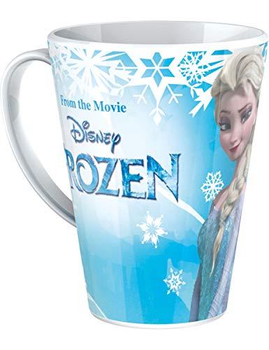BBS La Reine des neiges Tasse Bleu 9,5 x 11 x 7 cm
