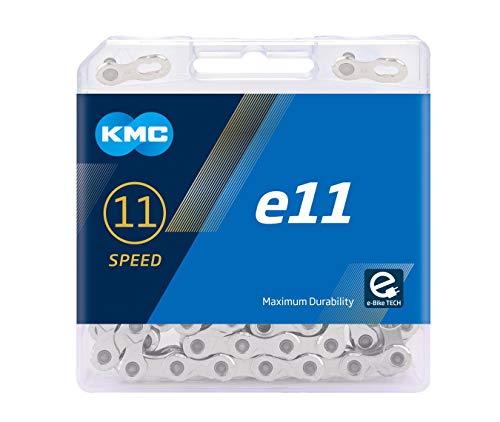 KMC Unisex- Erwachsene e11 Silver E-Bike 11-Fach Kette 1/2